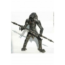 Predator statue metallique