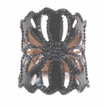 Bracelet decoupé strass