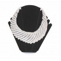 Parure strass large